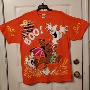 Scooby Doo Boo Halloween Tshirt size L